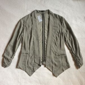Maurices Fitted Patterned Blazer Size Small